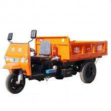 柴油三轮工程车 矿用渣料输送运料车 加重双层大梁柴油三轮车
