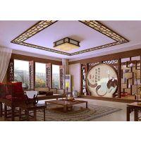 古鎮改造裝飾幕牆鋁窗花,旅遊文化區鋁花格款式定制