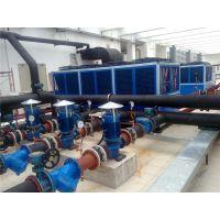 混凝土搅拌站冷水系统(箱型风冷式螺杆冷水机)