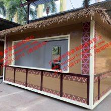 小八角亭 室外小商品售货亭 商场购物中心可移动售卖亭零售花车