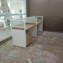 昆明 屏风办公位组合办公桌、员工办公桌厂家生产