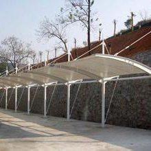 膜结构汽车车棚厂-膜结构-苏州创锦帆装饰工程有限公司车棚