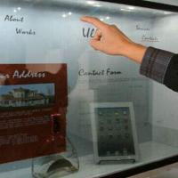 武汉透明显示屏展示柜/展馆透明液晶触摸屏