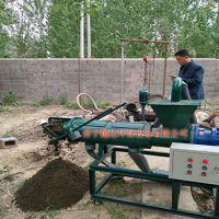 四川成都热销 越达180型200型鸡粪脱水机干湿分离机