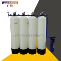 广旗供应小型井水过滤器 前置大流量净化水质泥沙杂质过滤器
