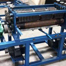 鑫鹏散热器拆分机铜铝废旧散热器拆解机操作流程