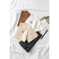 女装 夏装 休闲装 上装 短袖 T恤 纯棉T恤 短袖T恤批发