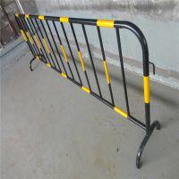 市区街道隔离栏 四横杠锌钢护栏 市政道路护栏高度