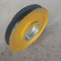 定做起重机铸钢滑轮片 批发10吨调质定滑轮组 热轧滑轮片