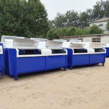 户外大型垃圾箱 勾臂垃圾箱 3方4方5方铁质垃圾箱 车载垃圾箱可定制