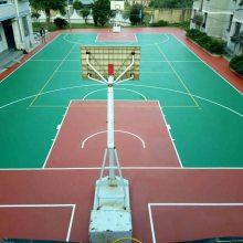 深圳球场硅pu材料生产厂家 硅pu篮球场地报价 运动场硅pu羽毛球场施工