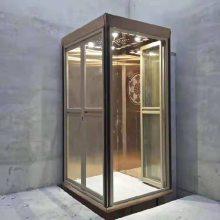 临沂定制安装室内室外家用电梯 导轨式无障碍升降平台 阳台观光电梯