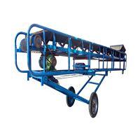 矿料输送机爬坡皮带输送机流水线 专业生产皮带运输机设备