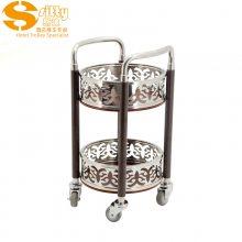 专业生产SITTY斯迪99.8107BH二层圆形酒水车
