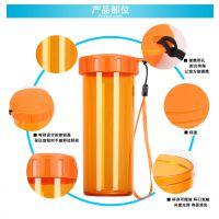 厂家定制 塑料杯定做 pp塑料便携水杯礼品广告杯子创意随手杯批发