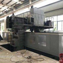 专业回收/出售二手国产南通科技4米龙门加工中心