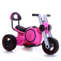 太空狗儿童电动摩托车新款男女宝宝三轮电动车摄影礼品车玩具车
