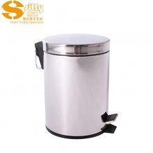 专业生产SITTY斯迪12.5000不锈钢脚踏式垃圾桶/客房桶
