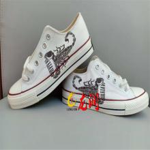 温州鞋子打印机 椰子鞋面高落差数码uv喷绘机 成品鞋logo外侧高落差印花机