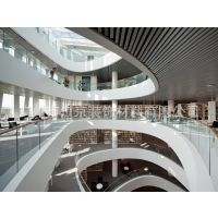 大学城室内U型垂片铝天花 欧佰仿木铝方通 长条形扣板吊顶