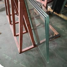 8+1.52PVB+8+1.52PVB+8 三层夹胶钢化玻璃厂家定制加工
