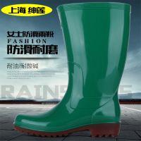 厂家直销新款女士雨鞋 物美价廉高筒水鞋 工作雨靴 优质PVC雨鞋