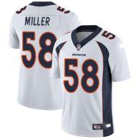 批发NFL橄榄球服 丹佛野马 Broncos 58号MILLER 二代传奇精英球衣