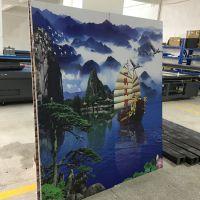 浮雕背景墙打印机 3D影视墙UV打印机工厂