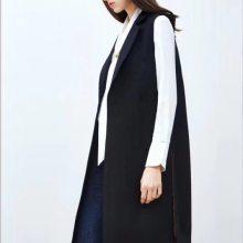 IAM27秋装韩版中长款风衣外套杭州品牌女装折扣批发