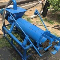 新一代环保螺旋式粪便处理器图片/养鸡场专用粪便干湿分离机
