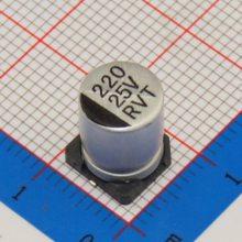 贴片式铝电解电容-东莞容强电子-耐高温贴片式铝电解电容