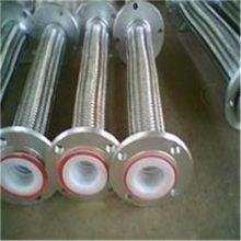化工管道专用耐腐蚀不锈钢金属软管 内衬四氟金属软管 编织软管批发