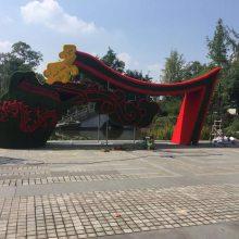 四川哪里有仿真植物雕塑厂家,生态绿色绿雕造型