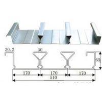无锡Q345材质闭口楼承板(YXB65-170-510型)厂家直销