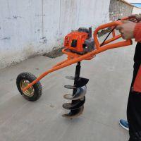 亚博国际真实吗机械 轻便汽油挖坑机 小型手提式挖坑机 定做小型手提式螺旋植树挖坑机