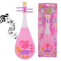儿童琵琶可弹奏乐器音乐电子琴 女孩公主小提琴生日礼物玩具