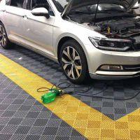 车间地板型号 高分子塑料防滑板 洗车房塑料拼接格栅 河北华强