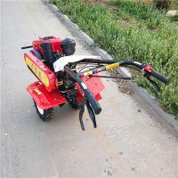 新款水冷的柴油耕田机 多功能的手扶柴油旋耕机