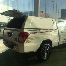 福迪f22东风御风p16皮卡货箱加装后平顶高盖后斗盖平盖后厢铁皮棚改装