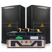会议室音响套装 专业舞台功放S62/音箱BM10/效果器/话筒演出设备