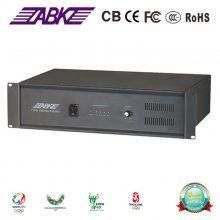 欧比克 ABK ET6004 纯后级定压功放 功率1000W