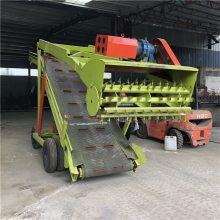 牛羊青贮取料机 自走式青贮饲料装载取料机