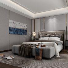 春晖十里装修设计,春晖十里洋房三室装修效果图,天古装饰设计师蓝天设计