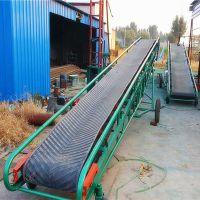 袋装芝麻装车输送机 移动式沙土皮带机定做 粮食装卸车输送机