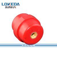 科大SM系列绝缘子M8*H35铜螺母型六角红色塑料绝缘隔离支柱绝缘