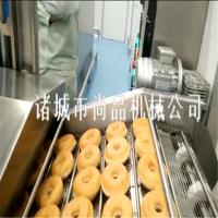 新式自动刮渣甜甜圈油炸机 发面麻花自动控温油炸流水线