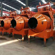 混凝土搅拌机JZM1000滚筒式工地用大型搅拌机全自动爬升一方多功能搅拌机