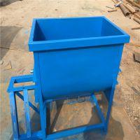 家用电单轴物料调料机 鸡场饲料混合搅拌机 定制双轴5立方拌料机