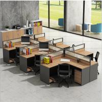 专业办公桌定制 职员屏风卡位组合 四人位电脑桌椅组合简约办公家具定做