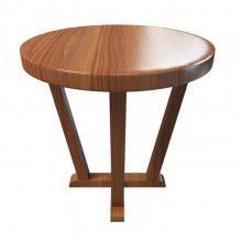 餐厅实木家具,可折叠圆形餐桌,户外实木圆形餐桌